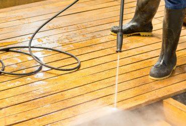 power wash deck and stain fredericksburg va